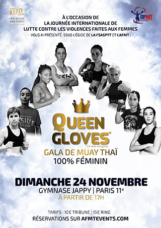 affiche Queen Gloves