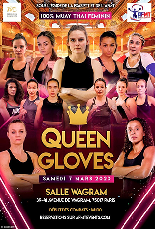 affiche Queen Gloves 2